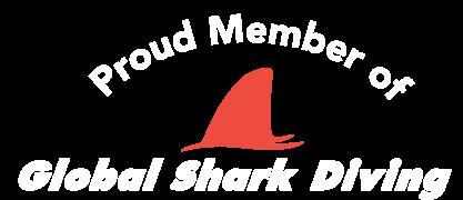 Proud member of Global Shark Diving alliance